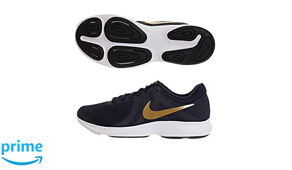 f35b3903d1a NIKE Women s Revolution 4 Navy Blue Running Shoes(908999-406) (UK-7  (US-9.5))  Amazon.in  Shoes   Handbags