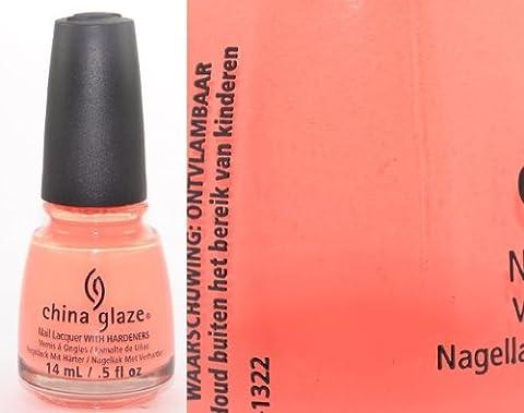 China Glaze Flip Flop Fantasy Nail Polish Lacquer with Hardeners 14ml