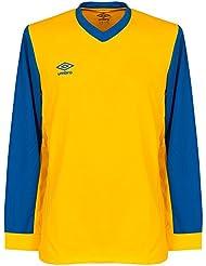 Umbro Witton L/S Team Trikot - gelb/blau