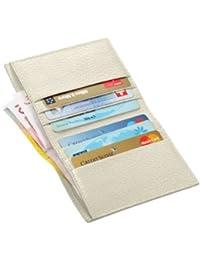 Lucrin - Etui für Kreditkarten und Geldscheine - Leder genarbt