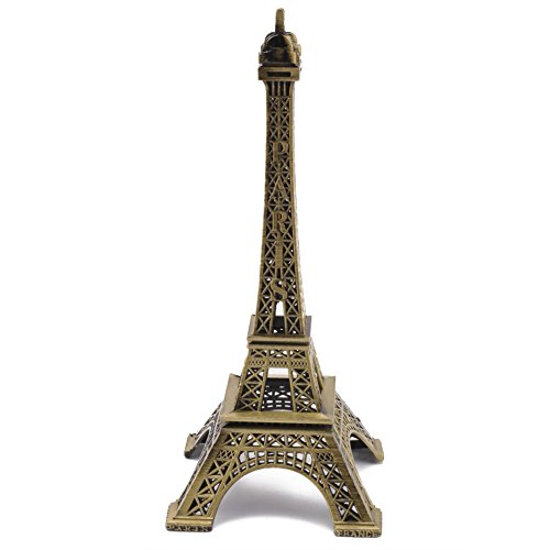 Alta 25cm Bronce Estatua Figura Torre Eiffel Modelo