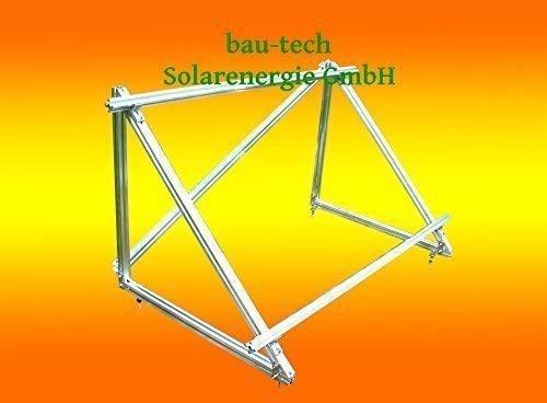 Pv-modul (PV Solar Unterkonstruktion Aufständerung für 2 Module a 100Watt oder 130Watt)