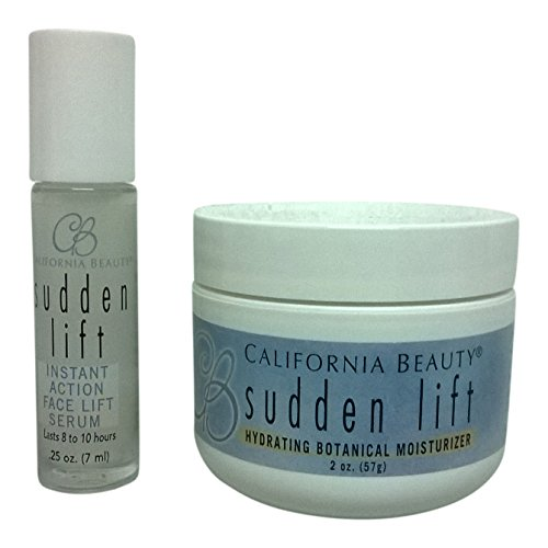 California Beauty Sudden Lift Anti Aging Feuchtigkeitscreme und Serum