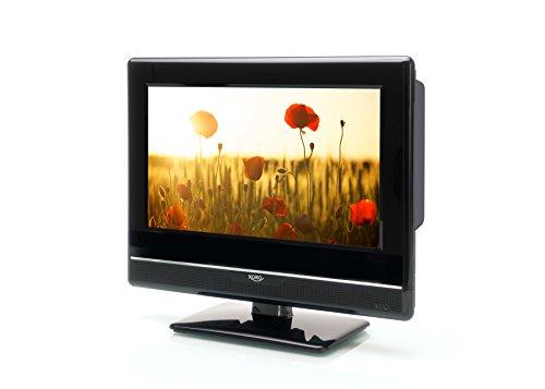 Xoro HTL 1347 33,78 cm (13,3 Zoll) LCD Fernseher (Full-HD, Triple Tuner DVB-S2/T2/C, H.265/HEVC-Decoder, Mediaplayer, USB 2.0, PVR Ready, Timeshift, 12V)