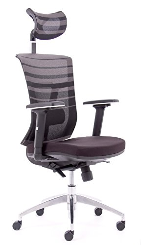 chaise-de-bureau-professionnelle-pixels-avec-appui-tete-pivotant-130kg-charge-housse-amovible-et-int