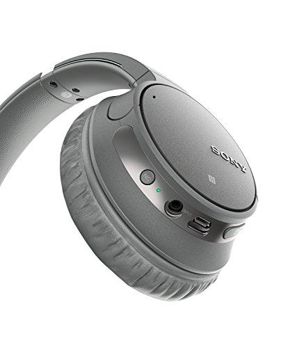 Sony WH-CH700N kabelloser Noise Cancelling Kopfhörer (Bluetooth, bis zu 35 Stunden Akku, Schnelladefunktion, NFC) grau - 3