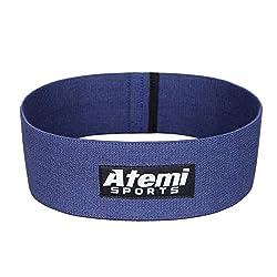 Widerstand Glute Band / Hip Band | Fitnessband für Gesäßmuskeln mit Workout Guide | Widerstandsband ideal für Bein- und Po-Training