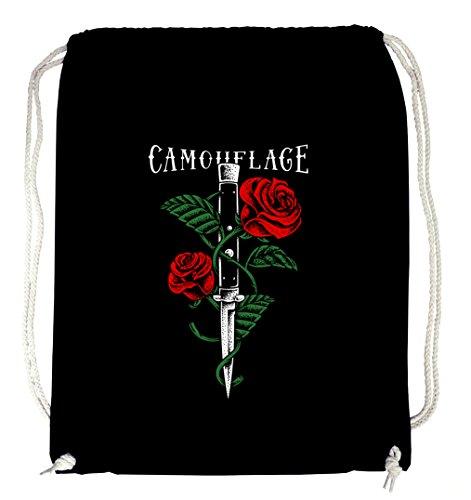Preisvergleich Produktbild Certified Freak Knife Roses Gymsack Black