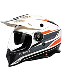 Casco Motocross Enduro Multifuncional Carretera Off-Road Casco De Rally De Doble Uso Casco De