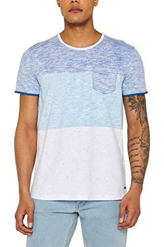 edc by ESPRIT Slub Jersey-Shirt aus 100% Baumwolle -
