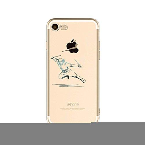 Preisvergleich Produktbild LaiXin Handyhülle Tasche für iphone7plus kreativ design TPU Schöne Backcover silicone Plastik Kratzfeste Anti Finger Ultradünnen Weich Bumper Schale-ringen