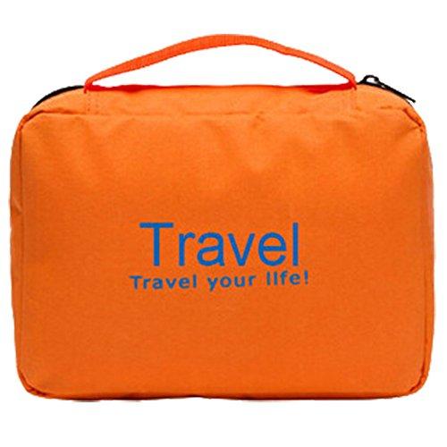 Anne Kulturbeutel Tragbare Reisetasche Paket orange