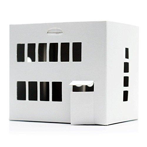 Casagami Bauhaus–Haus Karton zu färben und montieren–Beleuchtung Solar...