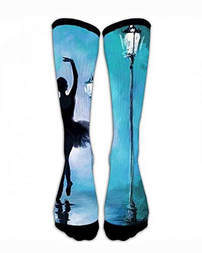 Crew Socks Ballet Beautifl Girl Men&Women Sport Athletic Socks Personalized Funny Crazy Unique Gift Socks