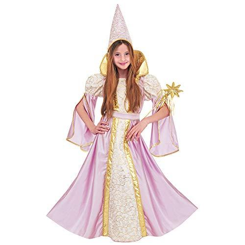 Dress Schmetterling Fancy Kostüm Lila - Widmann 37096 - Kinderkostüm Fee, Kleid und Hut, farbig Sortiert, Größe 128