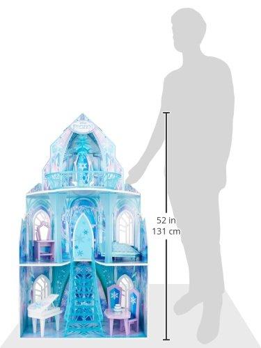 KidKraft 65881 Puppenhaus Disney Frozen Ice Castle, bunt - 9