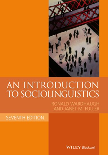 An Introduction to Sociolinguistics (Blackwell Textbooks in Linguistics) por Ronald Wardhaugh