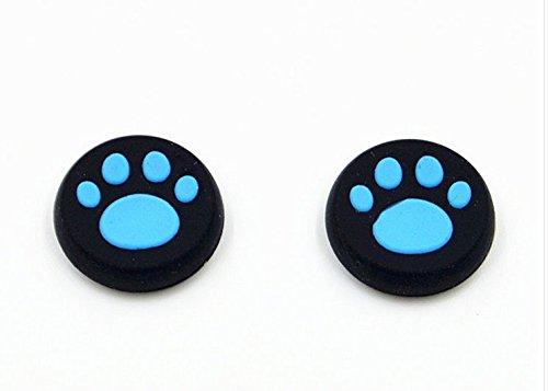 blau 4-PCS Aufsätze Thumb Grip Stick Kappe CAPS für PS2, PS3, PS4,...