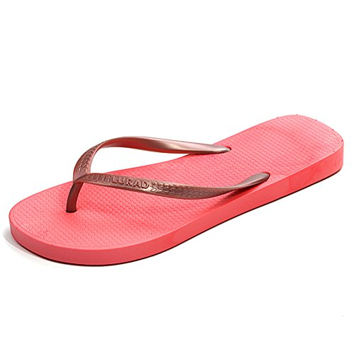 Signore di colore Candy e infradito/Estate Zeppe Sandali e pantofole/Sandali da bagno C