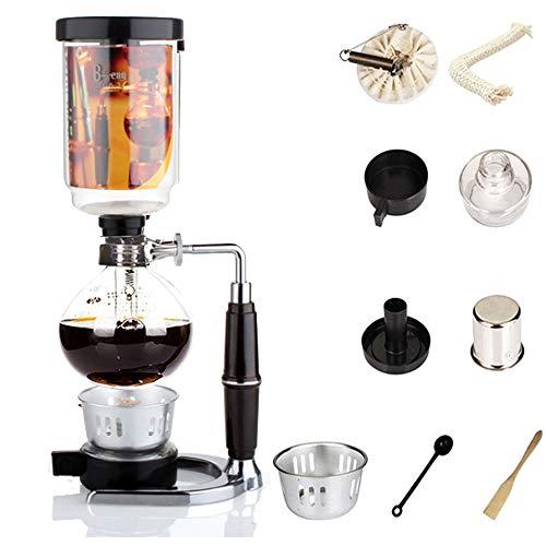 Siphon Kaffeemaschine Japanischen Stil Vakuum Glas Siphon Topf Percolators 1-3 Tassen Siphon Kaffeemaschine (Siphon) - Kaffeemaschine Vakuum Glas