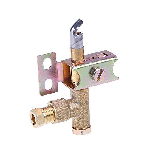 asiproper Pilot Brenner One Way Flame 2Loch Halterung haben kann Natürliche oder LP Gas -
