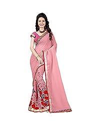 Airson Fab pink Pedding Designer Saree