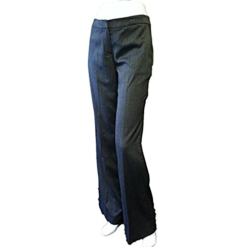 Kleid Hose Charcoal (BCBG Paris Damen Tweed Wide Leg Hose Kleid Hose Charcoal (8))