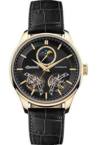 Ingersoll The Chord Reloj para Hombre Analógico de Automático con Brazalete de Piel de Vaca I07202