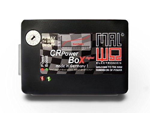 Numérique supplémentaire Appareil de commande - Power Box Chip Tuning compatible avec module pour Citroen Xsara 2.0 HDI DIESEL (Bosch) 66 KW/90 PS/205 Nm