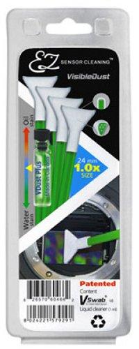 VisibleDust grüne Serie EZ Sensor Cleaning Kit 4x VSwab 1x 1ml VD Visible Dust Swabs