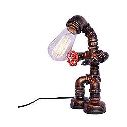 LOVELY Lampade a Led Lampade Retro Robot Led Lampade Industriali, Vintage Lampade da Cucina Bar, e27