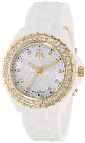Jivago Womens Analog Swiss-Quartz Watch with Silicone Strap JV8214
