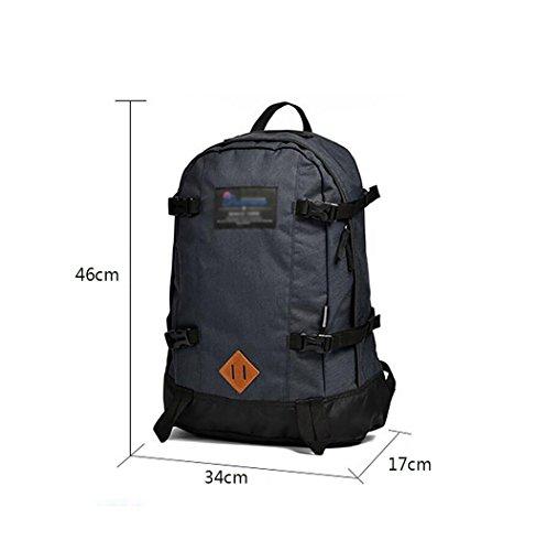 HWLXBB Outdoor Bergsteigen Tasche Männer und Frauen 28L Wasserdichte Mehrzweck-Bergsteigen Tasche Wandern Camping Bergsteigen Freizeit Rucksack Rucksack 2*