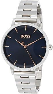Hugo Boss Womens Quartz Watch, Analog Display and Stainless Steel Strap 1502501