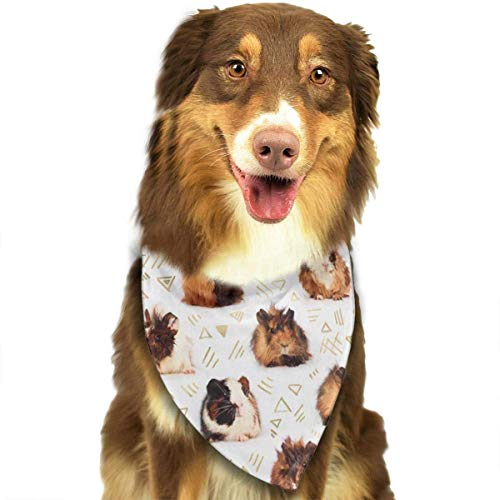 Rghkjlp Mole Pet Bandana Washable Reversible Triangle Bibs Scarf - Kerchief for Small/Medium/Large Dogs & Cats - Perlen Wolle Anzug