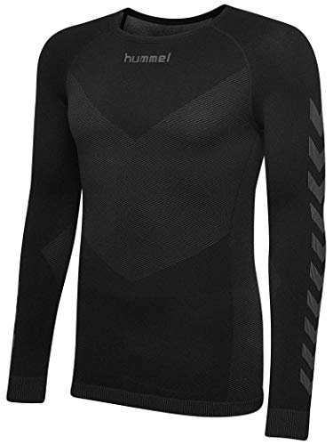 Hummel First Seamless Maillot Mixte Enfant, Noir, FR : M (Taille Fabricant : 116/128)