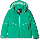 CMP Mädchen Wattierte 7000 Skijacke Jacke, Emerald, 110