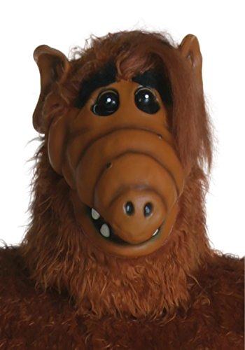 De Alf Kostüm - FUN Costumes Adult Overhead ALF Mask Standard