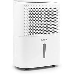 Klarstein DryFy 10 Luftentfeuchter • Lufttrockner • Raumentfeuchter, Kunststoff, bis 50 m³ -10L / 24h