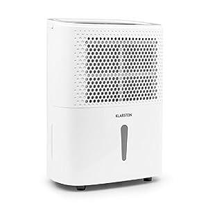 Klarstein DryFy 10 – Deshumidificador, 240 W, 10 L/24h, para 15 – 20 m2 (hasta 50 m3) tamaño de habitación, modo…