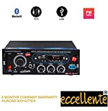 Eccellente Music Amplifier with Bluetooth FM, AX Line, USB Connect with Laptop, Tablet