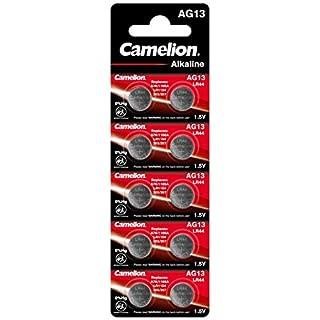 Camelion 12051013 AG 13 LR44 Battery - Multicolour (Pack of 10)