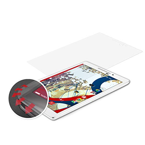 atFolix Schutzfolie passend für Asus ZenPad 7.0 Z370C Folie, entspiegelnde & Flexible FX Bildschirmschutzfolie (2X)