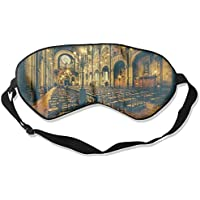 Eye Mask Eyeshade Church Picture Sleep Mask Blindfold Eyepatch Adjustable Head Strap preisvergleich bei billige-tabletten.eu