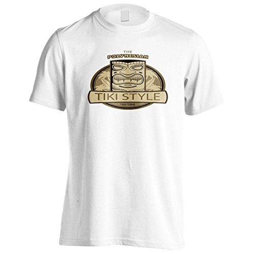 INNOGLEN Aloha Tiki Polynesische Maske Herren T-Shirt o732m