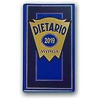 DIETARIO MYRGA 2/3 2019 D/P AZUL (315 x 155mm)