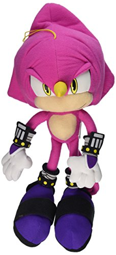 "Great Eastern Sonic The Hedgehog 12"" Espio The Chameleon Stuffed Plush"
