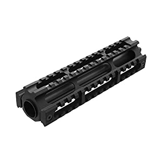 BEGADI Softair/Airsoft RPK Tactical Aluminium Upper Handguard mit 3X 20mm Weaverschienen
