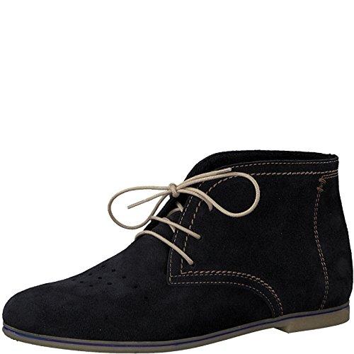 Tamaris 1-1-25208-20 Damen Stiefel, Boots, Stiefeletten für Die Modebewusste Frau Blau (Navy), EU 38 (Schuhe Schwarz Navy Hose)