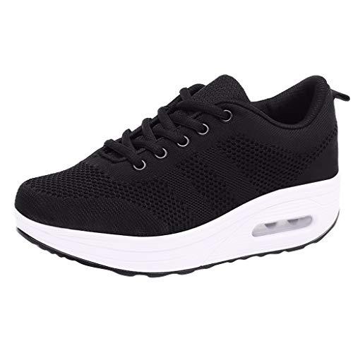 KERULA Fashion Women Casual Shoes, Outdoor Running Wedges Sport Kissen LäSsig Atmungsaktiv|Running Shoes|Laufschuhe|Freizeitschuhe|Schuhe -